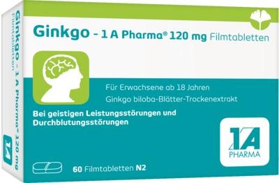 Ginkgo 1A Pharma 120mg
