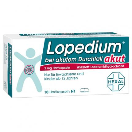 Lopedium akut bei akutem Durchfall