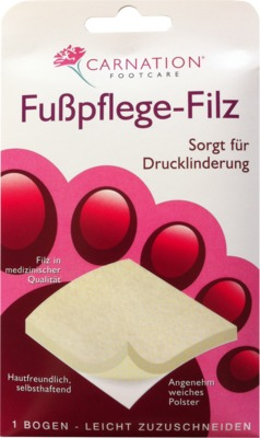 CARNATION Fußpflege-Filz