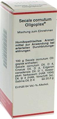 SECALE CORNUTUM OLIGOPLEX Liquidum