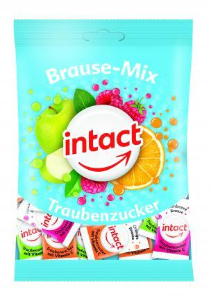 intact Traubenzucker Brause-mix Beutel