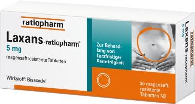 Laxans-ratiopharm 5mg