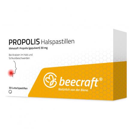 Beecraft Propolis Halspastillen