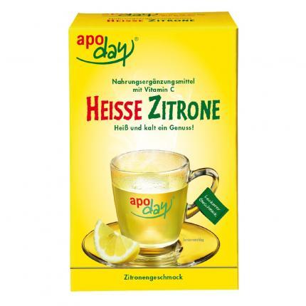 APODAY heiße Zitrone Vitamin C Pulver