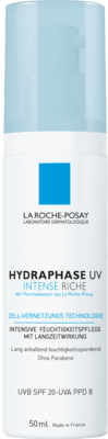ROCHE-POSAY Hydraphase UV Intense Creme reichh.