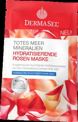 DERMASEL Maske Rosen