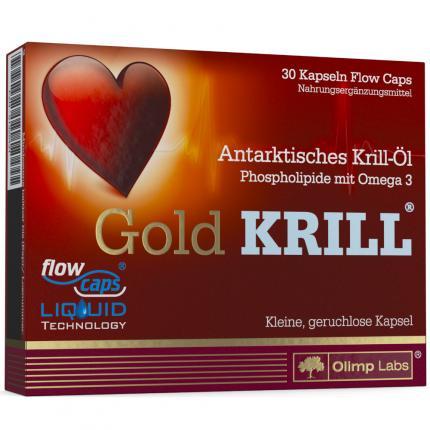 Olimp Labs Antarktische Gold Krill-Öl Kapseln