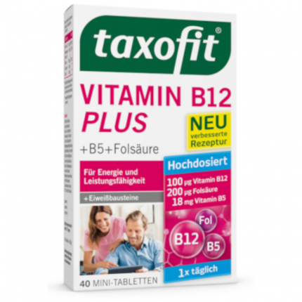 Taxofit Vitamin B12 Plus Tabletten