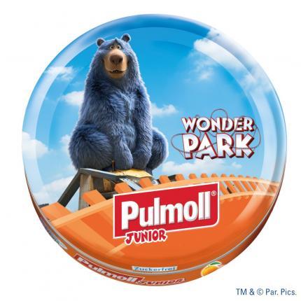 Pulmoll JUNIOR mit Vitamin ACE ohne Zucker