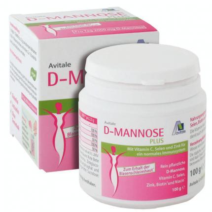 D-mannose Plus 2000 mg Pulver M.vit.u.mineralstof.