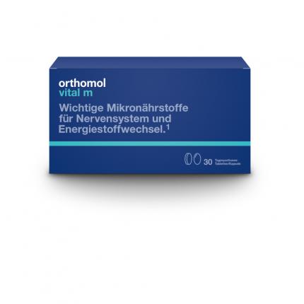 ORTHOMOL Vital M 30 Tabletten/Kaps.Kombipackung