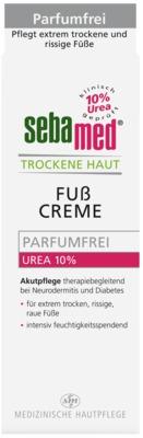 SEBAMED Trockene Haut parfümfrei Fußcreme Urea10%