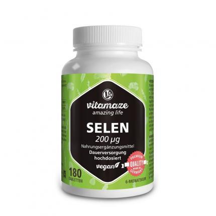 SELEN 200 µg hochdosiert vegan