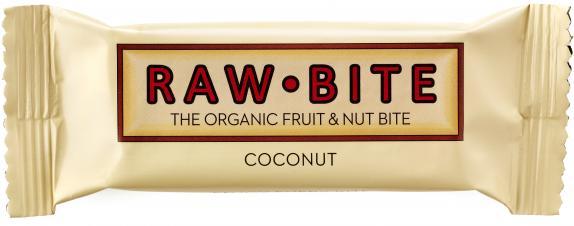 Raw Bite Bio Riegel Coconut