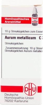 AURUM METALLICUM C 30 Globuli