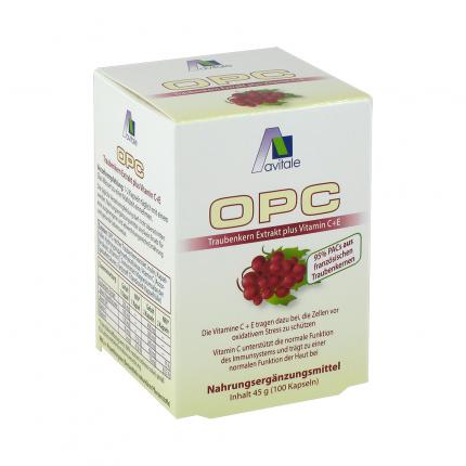 OPC Traubenkern Extrakt plus Vitamin C+E
