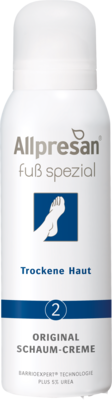 Allpresan Fuß spezial Nr. 2 Original Schaum-Creme Trockene Haut