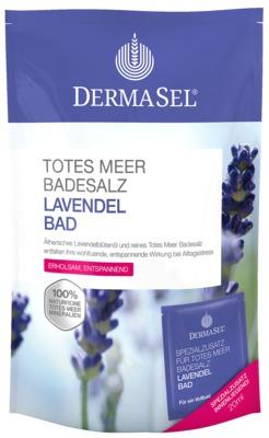 DERMASEL Totes Meer Badesalz+Lavendel SPA