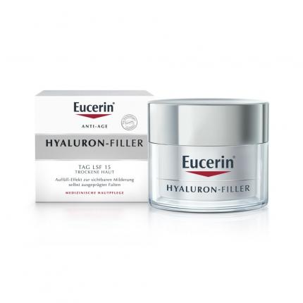 Eucerin ANTI-AGE HYALURON-FILLER TAG LSF 15 TROCKENE HAUT