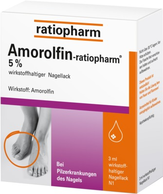 Amorolfin-ratiopharm 5%