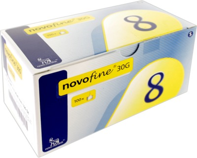 NOVOFINE 8 Kanülen 0,30x8 mm CPC