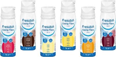 Fresubin Energy Fibre Drink Mischkarton Trinkflasche