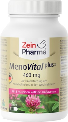 MENOVITAL Plus Rotklee Extrakt Kapseln