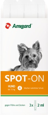 AMIGARD Spot-on Hund unter 15 kg