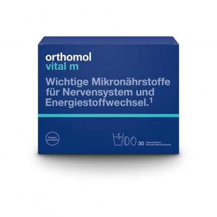 orthomol vital m 30 Granulat/Kapseln Kombipackung