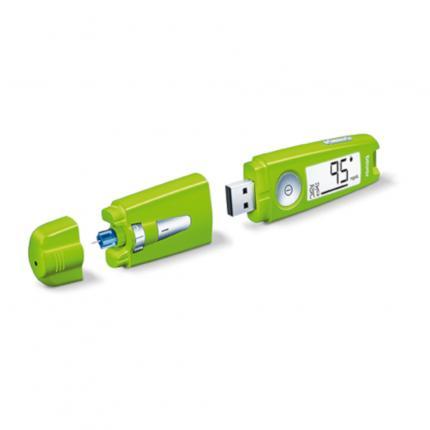 BEURER GL50 Blutzuckermessgerät mg/dl grün