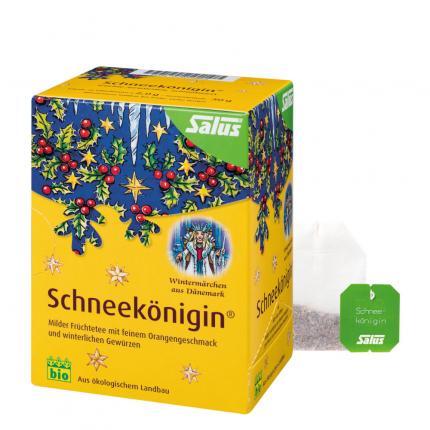 SCHNEEKÖNIGIN Früchte-Gewürztee Bio Salus Filterbeutel