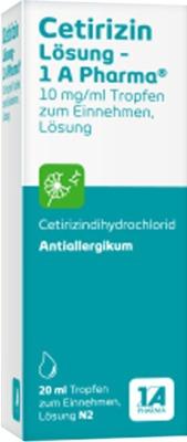 Cetirizin Lösung-1A Pharma