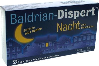 Baldrian-Dispert Nacht zum Einschlafen