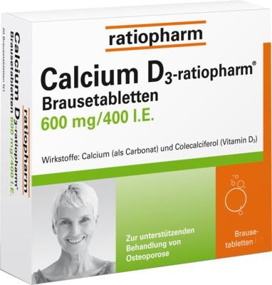 Calcium D3-ratiopharm 600mg/400 I.E.