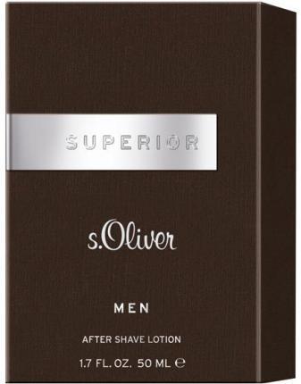 s.Oliver SUPERIOR MEN AFTER SHAVE LOTION