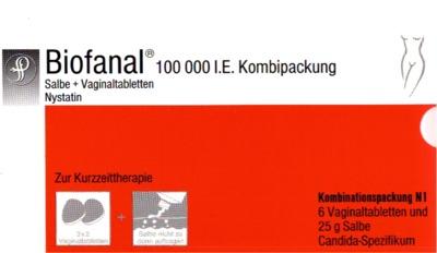 Biofanal 100000 I.E. Kombipackung