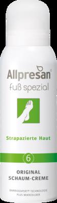 Allpresan Fuß spezial Nr. 6 Original Schaum-Creme Strapazierte Haut