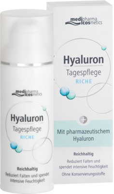 HYALURON Tagespflege riche Creme