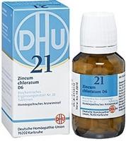 BIOCHEMIE DHU 21 Zincum chloratum D 6 Tabletten