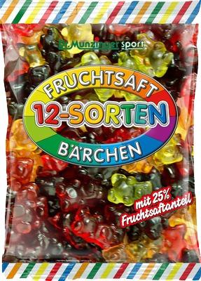 DR.MUNZINGER Fruchtsaftbärchen 12-Sorten