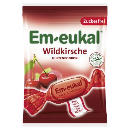EM EUKAL Bonbons Wildkirsche zuckerfrei