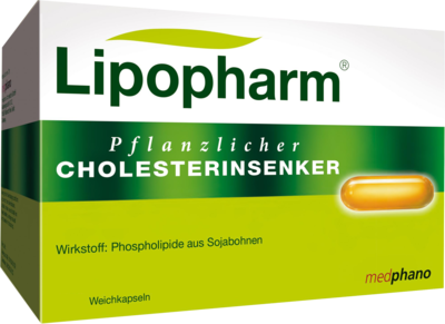 Lipopharm Pflanzlicher Cholesterinsenker Weichkapseln