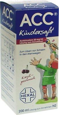 ACC Kindersaft 20mg/ml Lösung zum Einnehmen