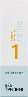 BIOCHEMIE Pflüger 1 Calcium fluoratum Creme