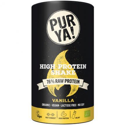 Purya High Protein Shake Vanilla Bio Pulver