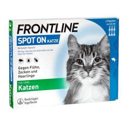 Frontline Spot-on Katze 6 St