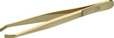 APOLINE Augenbrauenpinzette 9 cm vergoldet