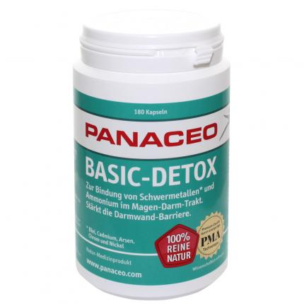 PANACEO Basic-Detox Kapseln
