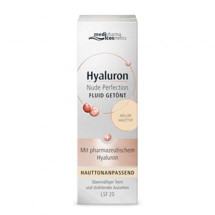 Hyaluron Nude Perfection Getönt.fluid LSF 20 Hell