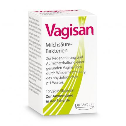 VAGISAN Milchsäure Bakterien Vaginalkapseln